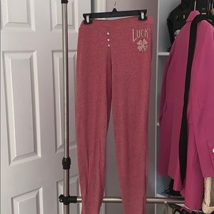 Lucky long sleeve pajama set